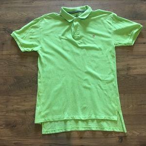 Polo Jeans Ralph Lauren Lime Green Polo Shirt M